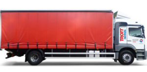 18 Ton Box / Curtain with Tail Lift