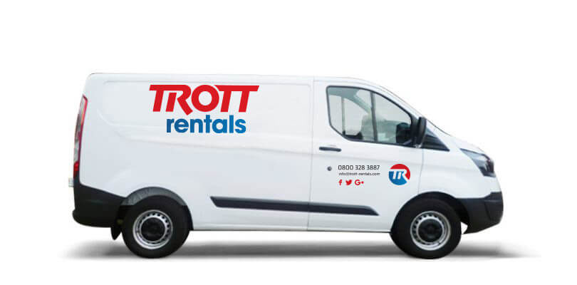 Medium rental van